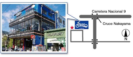 レンタルバイク洛西店 地図 RENTAL819
